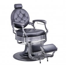 Vanquish Barber Chair - Brushed Frame