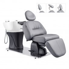 Maximus Full Recline Shampoo Unit With Rotating Seat