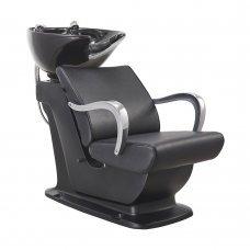 Beckman Salon Shampoo Unit with Adjustable Seat