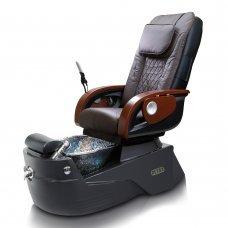 J&A Petra GX Black Base Pedicure Spa - Free Stool - Free Shipping